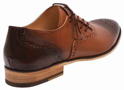 Business shoes shoes Genuine leather shoes brown – image 3