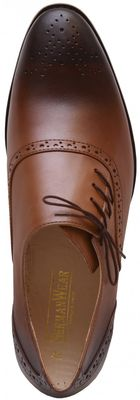 Business shoes shoes Genuine leather shoes brown – image 6