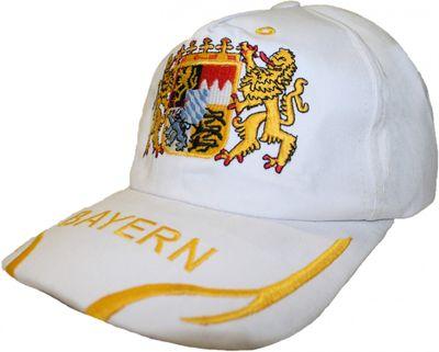 German Wear,Trachten basecap Cappe hut Bayernmuster mit gesticktem Bayerischen Wappen – Bild 4