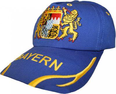 German Wear,Trachten basecap Cappe hut Bayernmuster mit gesticktem Bayerischen Wappen – Bild 6