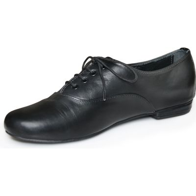 Ladies low shoe shoes made of genuine leather in black – image 5