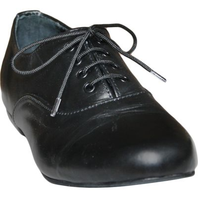 Ladies low shoe shoes made of genuine leather in black – image 6