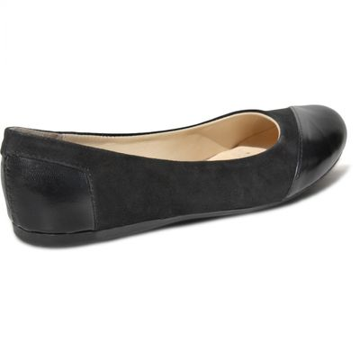 Ballerinas made ​​of genuine leather in black – image 5
