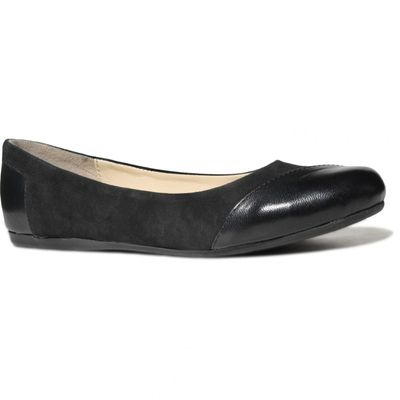 Ballerinas made ​​of genuine leather in black – image 3