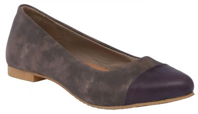 grey/purple Ballerinas