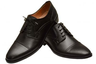Business shoes shoes Genuine leather shoes brown – image 2