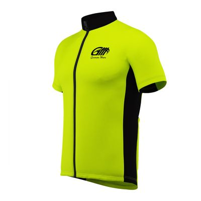 Men Cycling Short Sleeve Jersey Black/Grey/White – image 5