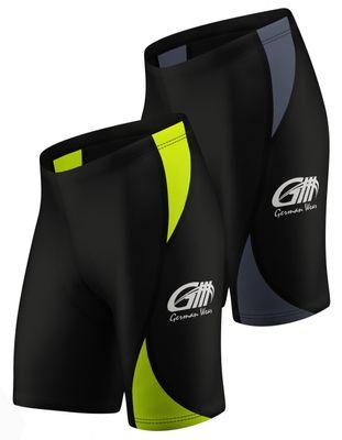 Men Cycling Short CoolMax Padded Black/Gray – image 1