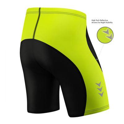 Men Cycling Short CoolMax Padded Black/Gray – image 4