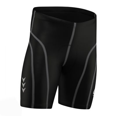 Men Cycling Short CoolMax Padded Black/Gray – image 5