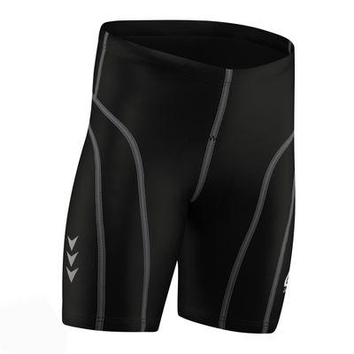 Men Cycling Short CoolMax Padded Black/Gray – image 5