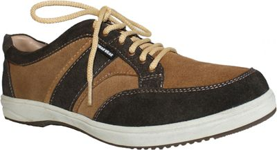 Sneakers made of cow split suede, Black – image 3