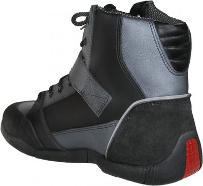 Motorbike Racing Sport Boots colour black/ Grey – image 4
