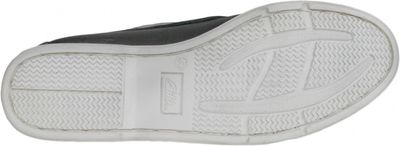 Boat Shoes made of real Cowhide,Color: Black/White – image 7
