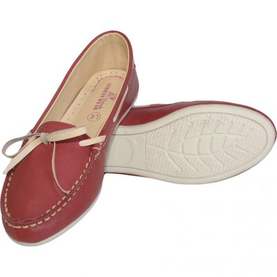 Boat Shoes made of real Cowhide,Color: Green – image 5