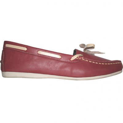 Boat Shoes made of real Cowhide,Color: Green – image 3