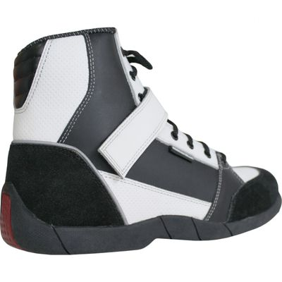 Motorbike Racing Sport Boots colour black/ white – image 3