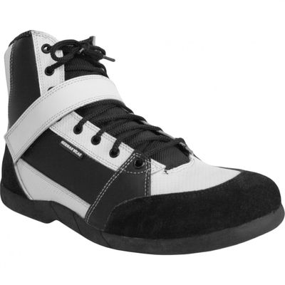 Motorbike Racing Sport Boots colour black/ white – image 2