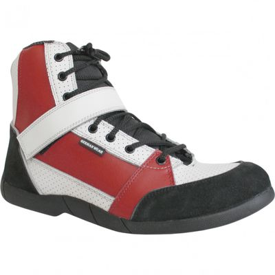 Motorbike Racing Sport Boots colour black/white/red – image 6