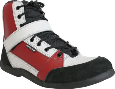 Motorbike Racing Sport Boots colour black/white/red – image 2