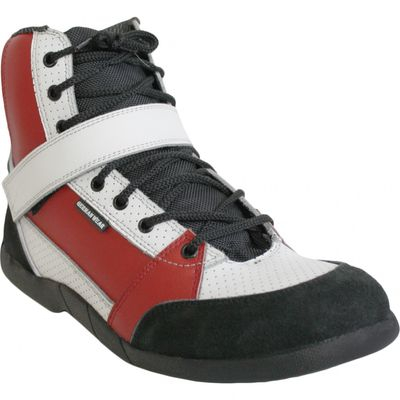 Motorbike Racing Sport Boots colour black/white/red – image 7