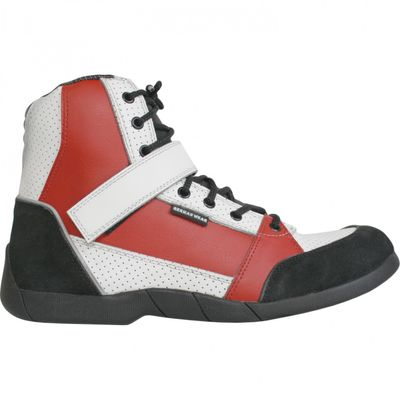 Motorbike Racing Sport Boots colour black/white/red – image 1