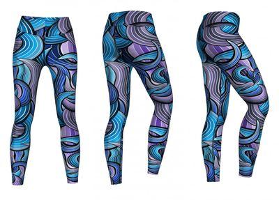 Energy Leggins for Sports, Gym & Fashion Sublimation print stretch