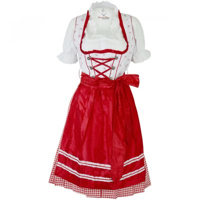 3 Pieces Midi-Dirndl Dress Set Bavaria Oktoberfest – image 1