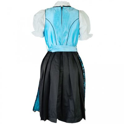 3 Pieces Midi-Dirndl Dress Set Bavaria Oktoberfest – image 2