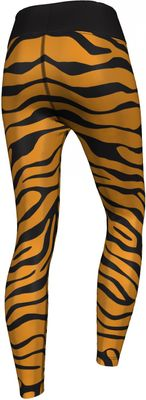 GermanWear,Leggings Tights dehnbar Sport Gymnastik Training Tanzen Freizeit Yoga ,Tiger schwarz/gelb – Bild 2