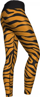 GermanWear,Leggings Tights dehnbar Sport Gymnastik Training Tanzen Freizeit Yoga ,Tiger schwarz/gelb – Bild 3