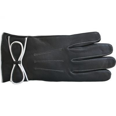 Trendy sheepskin Gloves for women real leather – image 3