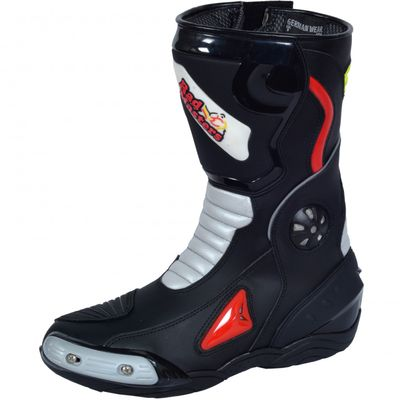 Motorbike Racing Sport Boots colour white/black – image 1