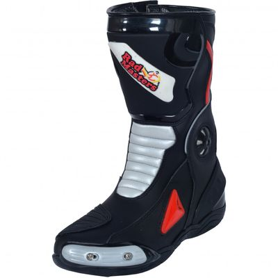 Motorbike Racing Sport Boots colour white/black – image 3