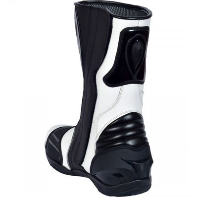 Motorbike Racing Sport Boots colour white/black – image 4