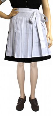 Dirndl Apron, Traditional Apron, Colour: white,