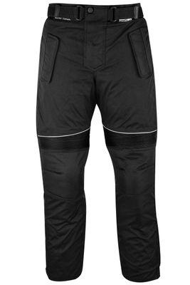 German Wear Motorbike Trousers Cordura Pants Textile Combinable - Black