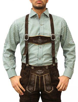 Traditional Bavarian Shirt For Lederhosen/Oktoberfest