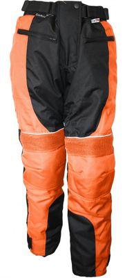 German Wear, Damen Motorradhose Textil hose Kombigeeignet Orange – Bild 1
