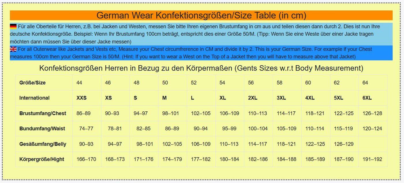 German Wear, Western Reiter Lederjacke Indianer Tracht