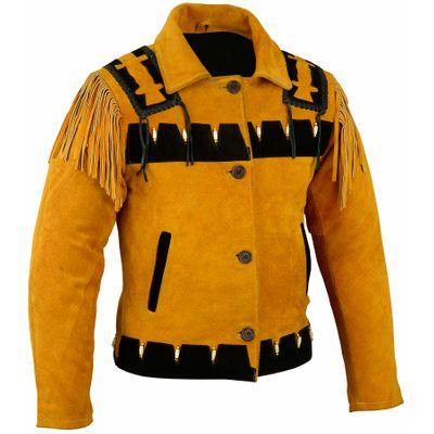 German Wear, Western Leather Indian Western Carnival Fasching Jacket