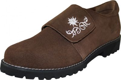 Bavarian Trachten Shoes Haferlschuhe,Color:Dark Brown – image 1