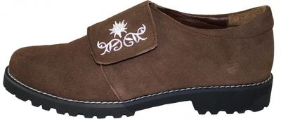 Bavarian Trachten Shoes Haferlschuhe,Color:Dark Brown – image 2