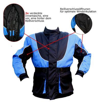 Cordura textil Motorcycle combinable Hump jacket – image 5