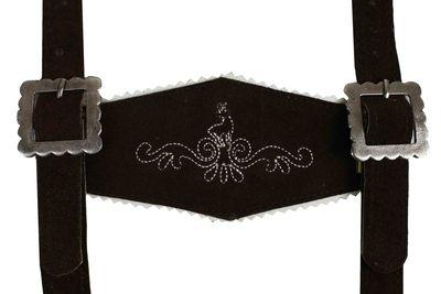 Boys Leather Suspenders, Classic Design