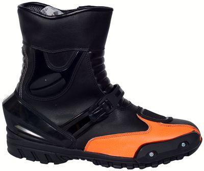 Motorbike Racing Sport Boots colour black/Anthrazit – image 1