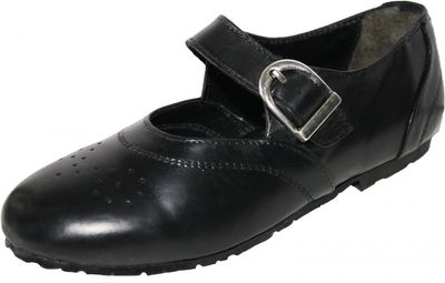 Bavarian Traditional Shoes, Kids Shoes ,Color: Black  Colour: Black – image 1
