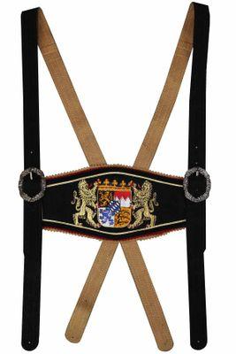 Leather Suspender With Bavarian Emblem – image 10