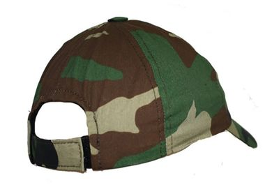 Textile Hunting Cap Woodland Pattern – image 2