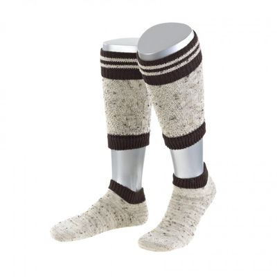 Two Part Loferl Trachten Socks, Trachten Socks Mottled